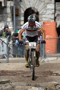 Manuel Fumic at UCI World Cup XCO 7 / DHI 6 - Val d'Isère (2012)