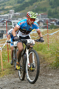 Martin Loo at UCI World Cup XCO 7 / DHI 6 - Val d'Isère (2012)