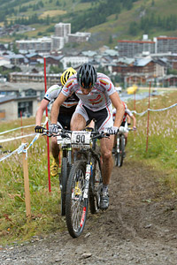 Nicola Rohrbach at UCI World Cup XCO 7 / DHI 6 - Val d'Isère (2012)