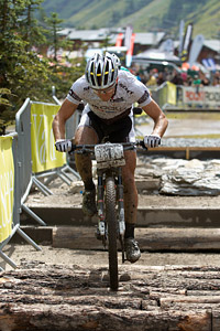Nino Schurter at UCI World Cup XCO 7 / DHI 6 - Val d'Isère (2012)