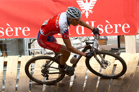 Paolo Cesar Montoya Cantillo at UCI World Cup XCO 7 / DHI 6 - Val d'Isère (2012)