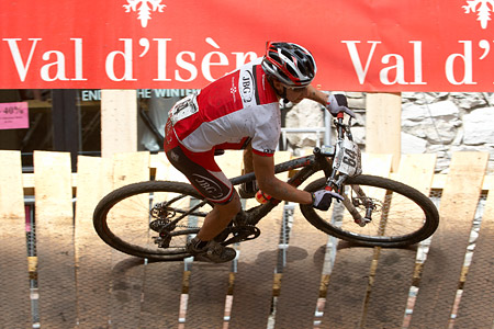 Piotr Brzozka at UCI World Cup XCO 7 / DHI 6 - Val d'Isère (2012)