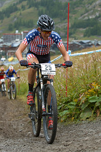 Samuel Schultz at UCI World Cup XCO 7 / DHI 6 - Val d'Isère (2012)