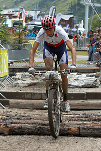 Tiago Jorge Oliveira Ferreira at UCI World Cup XCO 7 / DHI 6 - Val d'Isère (2012)