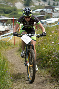 Anne Terpstra at UCI World Cup XCO 7 / DHI 6 - Val d'Isère (2012)