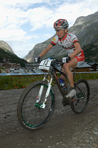Elisabeth Osl at UCI World Cup XCO 7 / DHI 6 - Val d'Isère (2012)