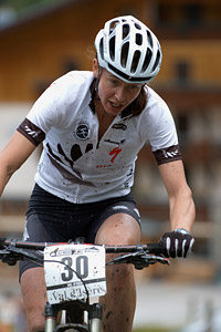 Karen Hanlen at UCI World Cup XCO 7 / DHI 6 - Val d'Isère (2012)