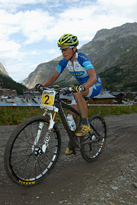Kateřina Nash at UCI World Cup XCO 7 / DHI 6 - Val d'Isère (2012)