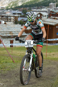 Kristien Nelen at UCI World Cup XCO 7 / DHI 6 - Val d'Isère (2012)