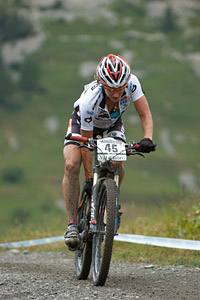 Laura Metzler at UCI World Cup XCO 7 / DHI 6 - Val d'Isère (2012)