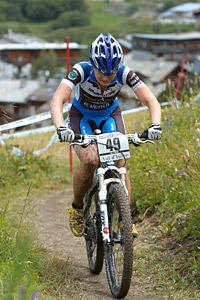 Maaris Meier at UCI World Cup XCO 7 / DHI 6 - Val d'Isère (2012)