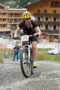 Maxine Filby at UCI World Cup XCO 7 / DHI 6 - Val d'Isère (2012)