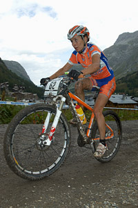 Mercedes Pacios Pujado at UCI World Cup XCO 7 / DHI 6 - Val d'Isère (2012)