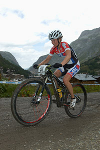 Nicoletta De Jager at UCI World Cup XCO 7 / DHI 6 - Val d'Isère (2012)