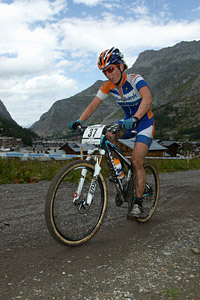 Rosara Joseph at UCI World Cup XCO 7 / DHI 6 - Val d'Isère (2012)