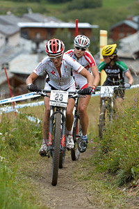 Sabrina Enaux at UCI World Cup XCO 7 / DHI 6 - Val d'Isère (2012)