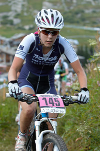 Chantal Eheim at UCI World Cup XCO 7 / DHI 6 - Val d'Isère (2012)