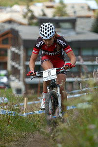 Candice Neethling at UCI World Cup XCO 7 / DHI 6 - Val d'Isère (2012)