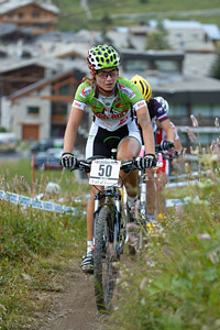 Marta Pastore at UCI World Cup XCO 7 / DHI 6 - Val d'Isère (2012)