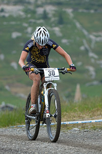 Vendula Kuntova at UCI World Cup XCO 7 / DHI 6 - Val d'Isère (2012)