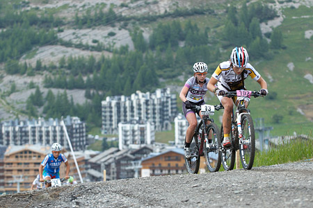 Vivienne Meyer at UCI World Cup XCO 7 / DHI 6 - Val d'Isère (2012)