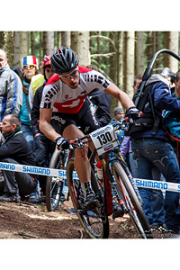 Lucien Besancon at UCI World Cup XCO / XCE 2 - Nove Mesto na Morave (2013) - © Martin Hofhanzl