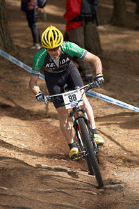 Michael Broderick at UCI World Cup XCO / XCE 2 - Nove Mesto na Morave (2013)