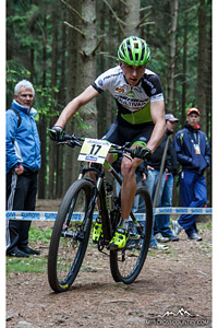 Ondrej Cink at UCI World Cup XCO / XCE 2 - Nove Mesto na Morave (2013) - © Martin Hofhanzl