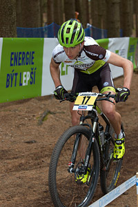 Ondrej Cink at UCI World Cup XCO / XCE 2 - Nove Mesto na Morave (2013)