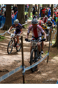 Rafał Alchimowicz at UCI World Cup XCO / XCE 2 - Nove Mesto na Morave (2013) - © Martin Hofhanzl