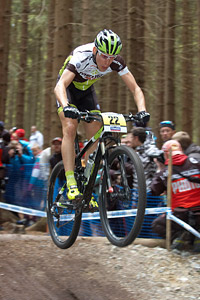 Thomas Litscher at UCI World Cup XCO / XCE 2 - Nove Mesto na Morave (2013)