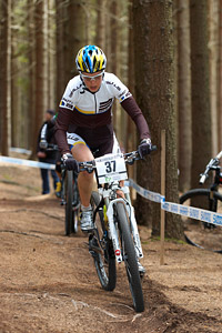 Anja Gradl at UCI World Cup XCO / XCE 2 - Nove Mesto na Morave (2013)