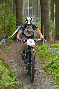 Erin Huck at UCI World Cup XCO / XCE 2 - Nove Mesto na Morave (2013)