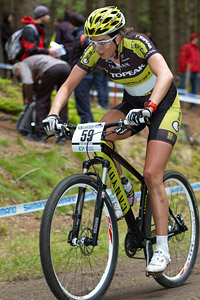 Nadine Rieder at UCI World Cup XCO / XCE 2 - Nove Mesto na Morave (2013)