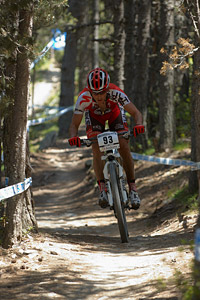 Alejo Moya at UCI World Cup XCO / XCE / DHI 4 - Vallnord (2013)