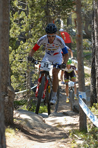 Andrea Tiberi at UCI World Cup XCO / XCE / DHI 4 - Vallnord (2013)