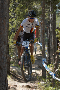Andy Eyring at UCI World Cup XCO / XCE / DHI 4 - Vallnord (2013)