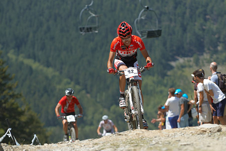 Carlos Portilla Parrilla at UCI World Cup XCO / XCE / DHI 4 - Vallnord (2013)
