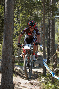 Catriel Andres Soto at UCI World Cup XCO / XCE / DHI 4 - Vallnord (2013)