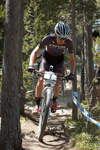 Daniel McConnell at UCI World Cup XCO / XCE / DHI 4 - Vallnord (2013)