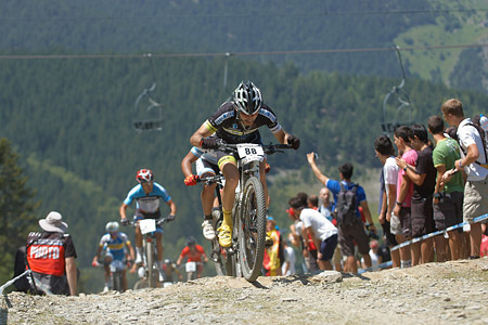 David Escolar Ballesteros at UCI World Cup XCO / XCE / DHI 4 - Vallnord (2013)