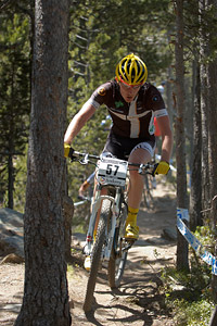 David Fletcher at UCI World Cup XCO / XCE / DHI 4 - Vallnord (2013)
