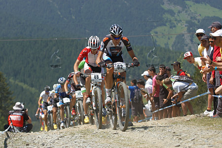 David Valero at UCI World Cup XCO / XCE / DHI 4 - Vallnord (2013)