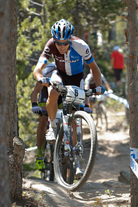 Fabian Giger at UCI World Cup XCO / XCE / DHI 4 - Vallnord (2013)