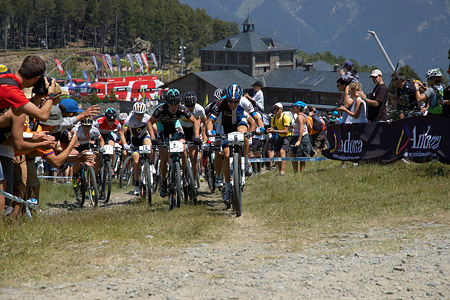 Gerhard Kerschbaumer at UCI World Cup XCO / XCE / DHI 4 - Vallnord (2013)