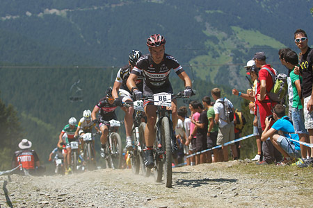 Fabian Rabensteiner at UCI World Cup XCO / XCE / DHI 4 - Vallnord (2013)