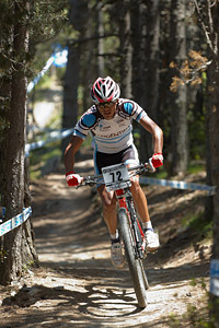 Franco Molina at UCI World Cup XCO / XCE / DHI 4 - Vallnord (2013)