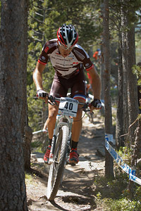 Hans Becking at UCI World Cup XCO / XCE / DHI 4 - Vallnord (2013)