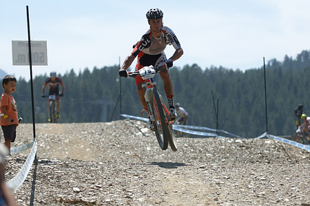 Ivan Diaz at UCI World Cup XCO / XCE / DHI 4 - Vallnord (2013)