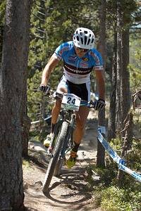 Martin Loo at UCI World Cup XCO / XCE / DHI 4 - Vallnord (2013)